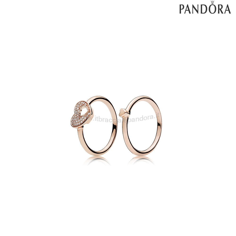 Outlet Pandora Cuori Scintillanti Rose